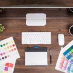 デザイン机イメージ